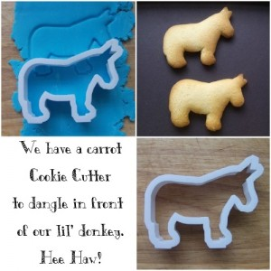 Donkey Cookie Cutters