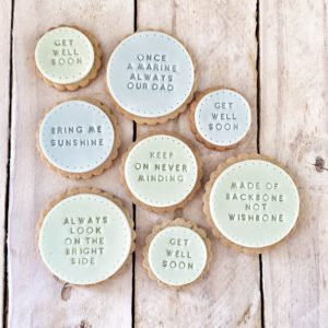 Quotation Cookies from Kitsch Hen