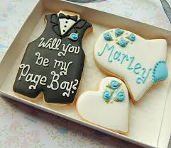 Cookie Collaboration Bridal Cookies