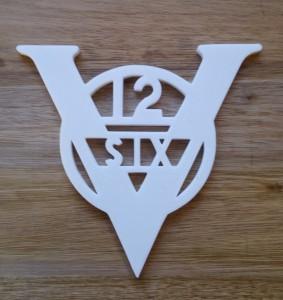 Vauxhall Car Badge